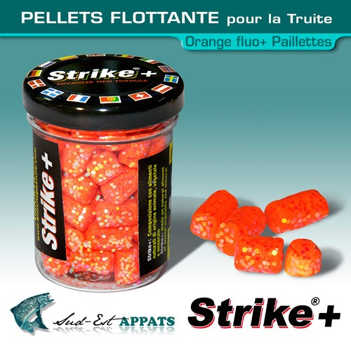 Pellets flottante pour la truite - Orange